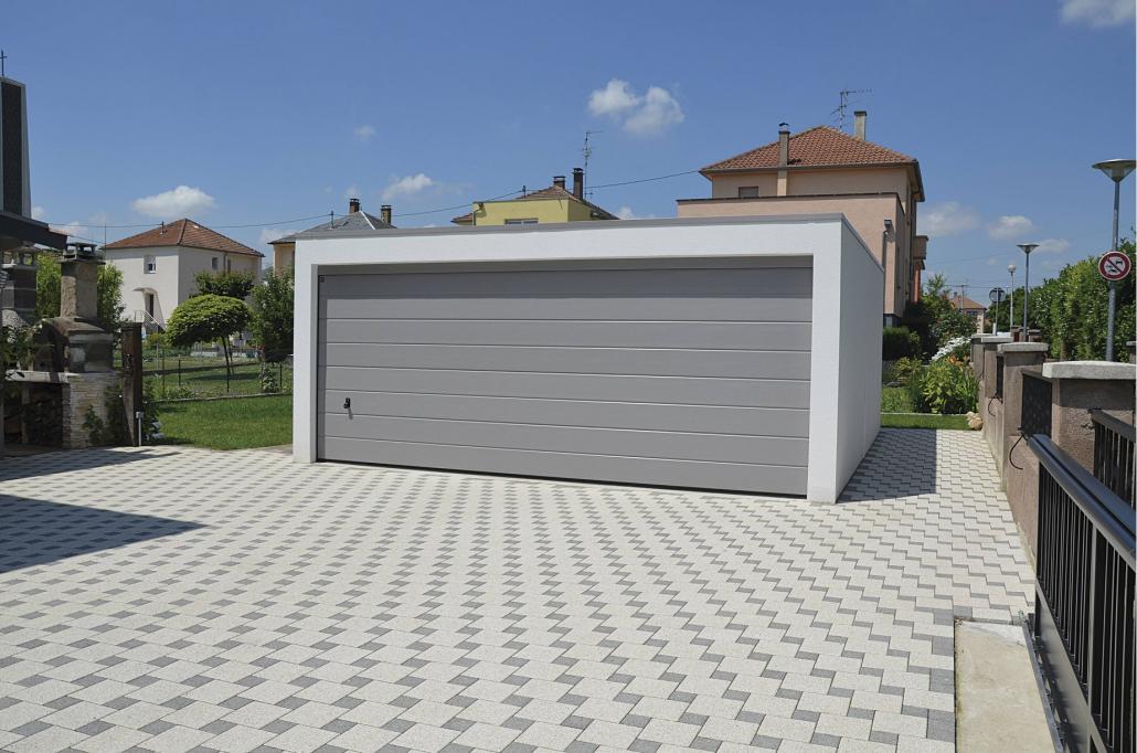 Garage monobloc béton ville