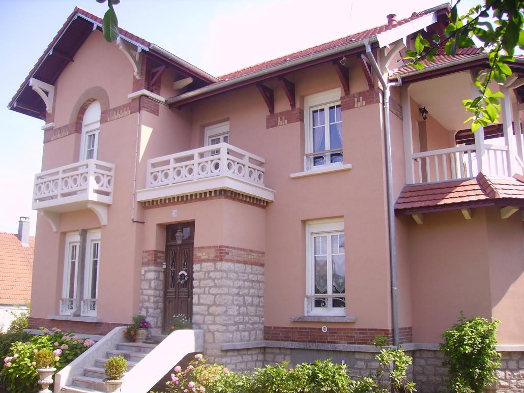 Ravalement maison en pierre