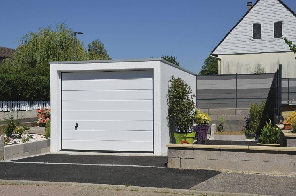 Petit garage préfabriqué