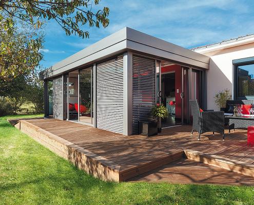 veranda rideau moyse 3D à Dole