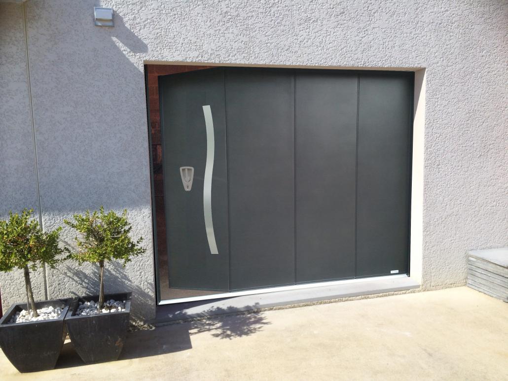 Porte de garage Moyse 3D