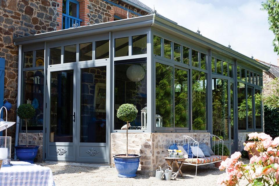 style veranda industrielle