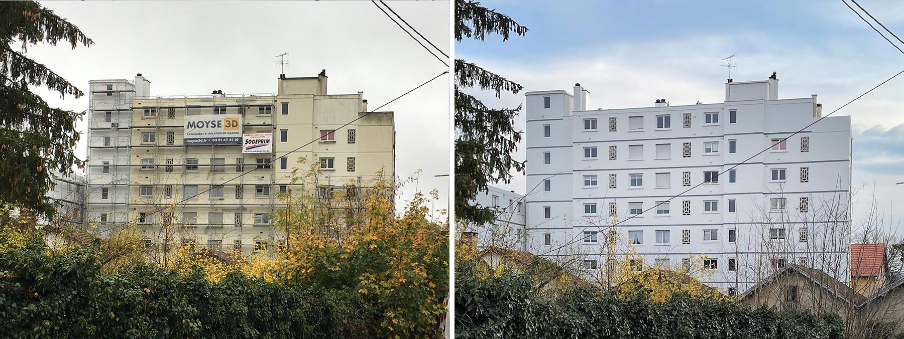 isolation façade Besançon