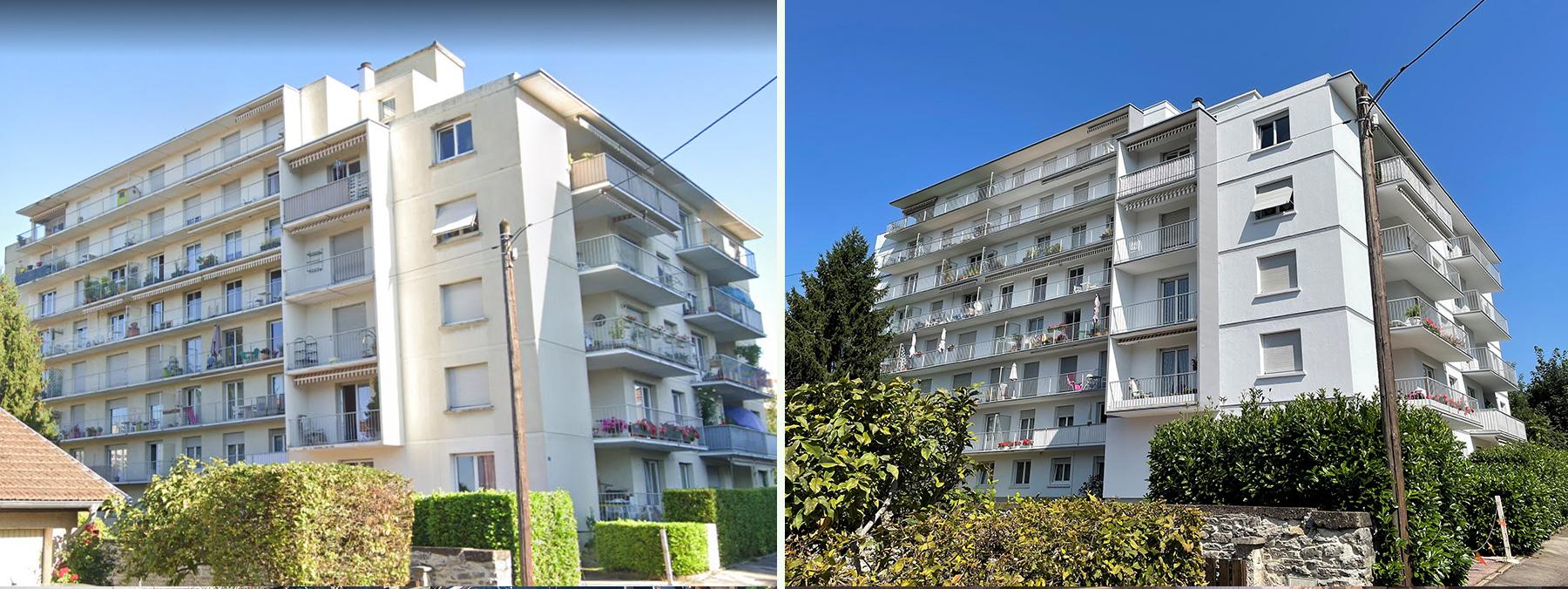 Ravalement de façade à Besançon 25